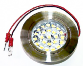 Oleary12v Recessed 24 LED Spotlight Brushed Satin